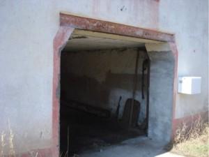 Le lieu: un garage