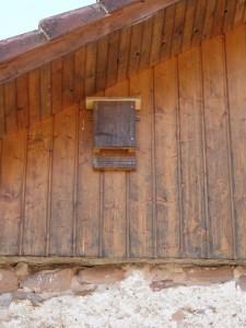 Un nichoir à chauves-souris - Photo Pascale Meignan
