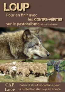 Brochure Loup-Contre-Vérites de CAP Loup