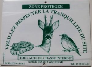 Ancien zone de non chasse Oiseaux-Nature