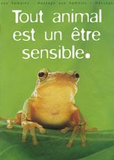 Tout animal est un être sensible