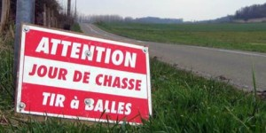 Attention jour de Chasse - Image Internet