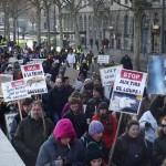 27 Manifestation contre les tirs de loups Lyon 16-01-2016