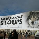 33 Manifestation contre les tirs de loups Lyon 16-01-2016