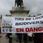 44 Manifestation contre les tirs de loups Lyon 16-01-2016
