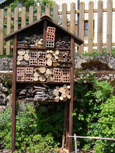 Un exemple de refuge à insectes