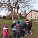Avec Ois Nat les enfants de Tendon ont fabriqué des nichoirs 16-03-2016
