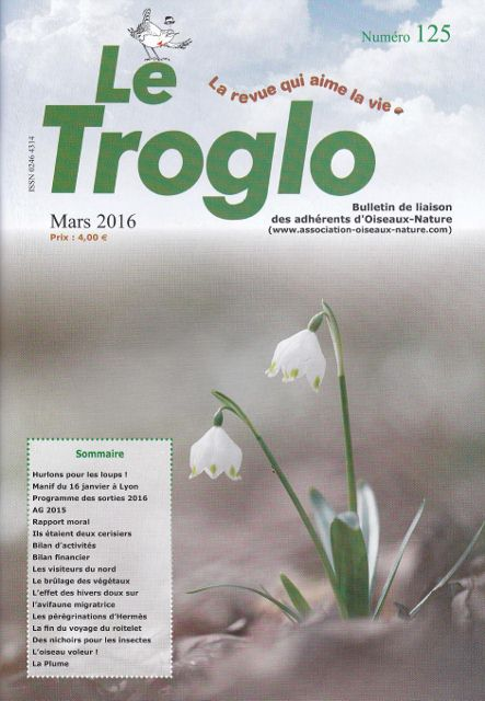 Le Troglo n°125 - Mars 2016