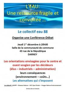 Conférence le 1er décembre à Darney