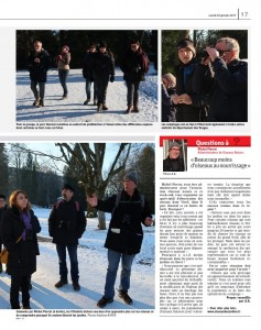 Les oiseaux se font rares cet hiver-2 Vosges Matin 23-01-2017 ed la plaine