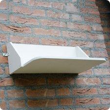 Planche à fientes pour hirondelles de fenêtre