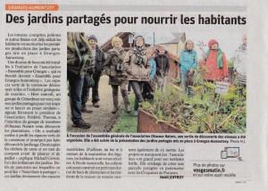 Granges Autmonzey Des jardins partagés pour nourrir les habitants - Vosges Matin 09-10-2017