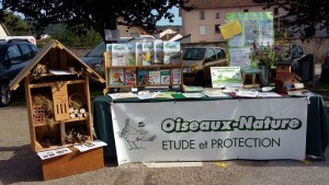 Stand Oiseaux Nature à Granges-Autmonzey en juillet 2017