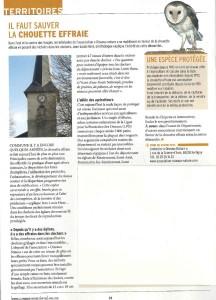 Il faut sauver la chouette effraie - Vivre les Vosges ensemble Avril 2018.pdf