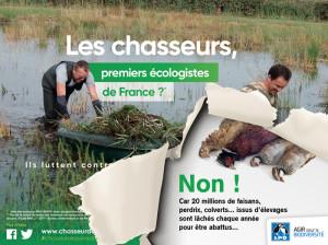 Les chasseurs premiers écologistes de France-gibier relaché chasse - LPO 02-09-2018