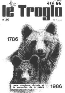 Le Troglo n°20 été 86 - couverture