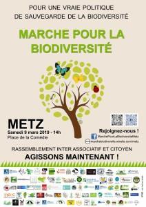 Affiche Marche pour la biodiversité