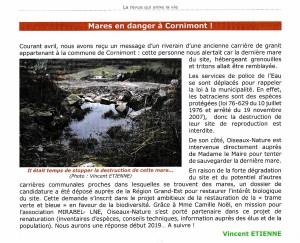 Mare en Danger - Le Troglo n°130 décembre 2018