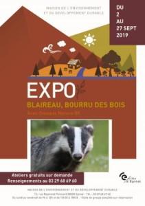 Expo Connaissez-vous le bourru des bois à Epinal du 2 au 29 Septembre 2019