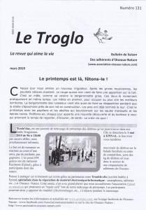 Le Troglo n°131-mars 2019