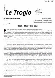 Le Troglo de Janvier 2020 - n°133