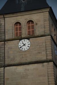 Nichoir dans le clocher de l'église du Val d'Ajol 3 - Janvier 2020