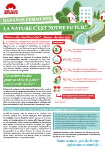 Dans notre commune la nature c'est notre futur - FNE