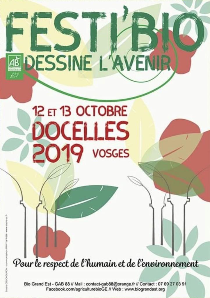 Festi'bio à Docelles le 12 et 13 octobre 2019