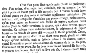Le rouge queue noir - Paul Géroudet