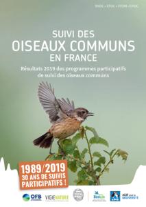 Suivi des oiseaux communs en France 1989-2019 OFB MNHN LPO