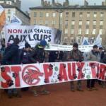 03 Manifestation contre les tirs de loups Lyon 16-01-2016