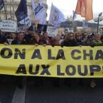 11 Manifestation contre les tirs de loups Lyon 16-01-2016