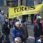 26 Manifestation contre les tirs de loups Lyon 16-01-2016