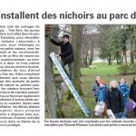 Au Val d'Ajol, les enfants préparent les nichoirs, vite le printemps arrive!