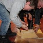 Fabrication de nichoirs par les enfants du Val dAjol