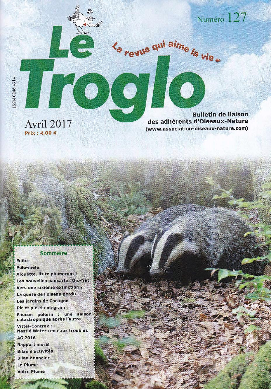Le Troglo 127 - Avril 2017