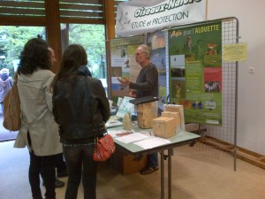 stand Oiseaux Nature