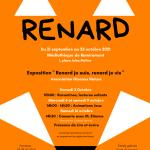 Expo renard à Remiremont du 21/09 au 23/10/21